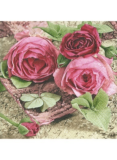 Sentimental Roses Peçete-Dünya Style